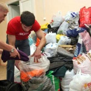 Накануне, 5 июня, в Ростовской области начали работу пункты сбора гуманитарной помощи для беженцев из Украины