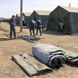 Все четыре палаточных городка для переселенцев из Украины ликвидированы. Число беженцев в Ростовской области за две недели сократилось на четыре тысячи человек