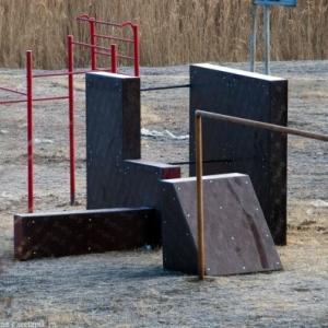В Каменске-Шахтинском (Ростовская область) оборудован полигон для паркура