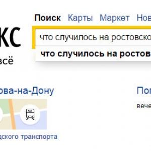 Компания «Яндекс» проанализировала темы и запросы, которые вводили жители ростовской области в поисковую строку на прошлой неделе, с 3 по 9 ноября