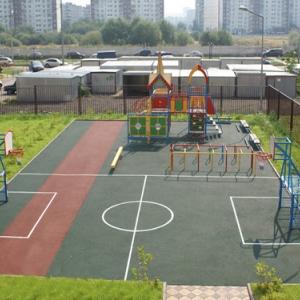 В Таганроге открыта спортивная площадка спортплощадка.
