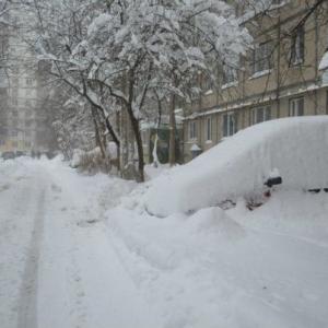 Устрашающие последствия сильнейшего снегопада в Ростовской области.