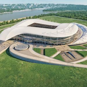 В Ростовской области утвердили смету на строительство стадиона к ЧМ-2018.