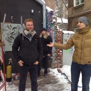 В воскресенье, 30 ноября, прошли первые мероприятия в череде увлекательных событий фестиваля «Гёте в Ростове»: экологическая акция и антиграффити от немецкого художника Тима Оссеге из Кёльна, а также встреча с лектором DAAD Зильке Блюм