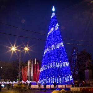 Ростов-на-Дону украсят 40 километров гирлянд