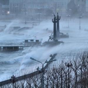 В Ростовском регионе ожидается ураганный ветер.