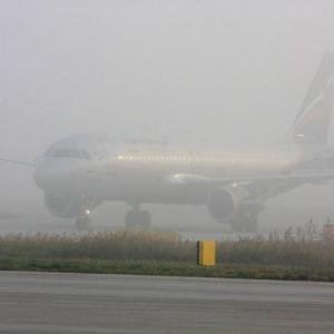 Сегодня на Ростов обрушился сильнейший туман.