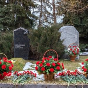 Могила М.А.Шолохова