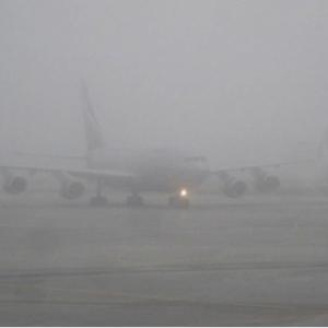 В связи с неблагоприятными погодными условиями в виде сильного тумана, Ростовский аэропорт не смог сегодня принять один рейс, прибывший из московского «Шереметьево».