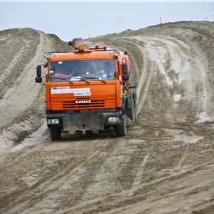 Свыше 5 млн кубометров грунта должны переместить строители аэропорта «Южный». Пока сняты только 250 тысяч кубометров