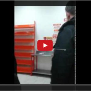 В Волгодонске работники «Магнита» сняли на видео мужчин, пытавшихся обокрасть их магазин