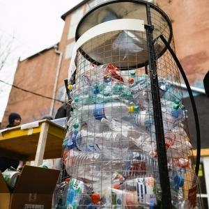 контейнер для сбора пластиковых бутылок