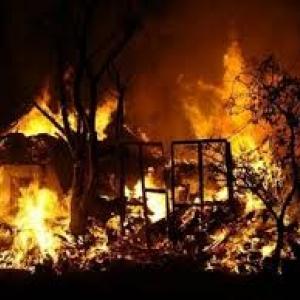 В Ростове-на-Дону растет количество пожаров и пострадавших в них.