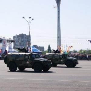 В Ростове во время репетиции парада перекроют движение транспорта
