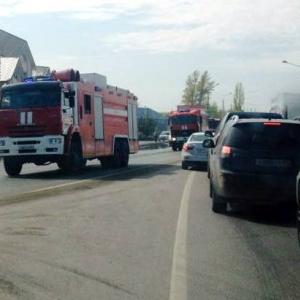 По уточненной информации, число пострадавших в результате пожара уже возросло до 10-ти.