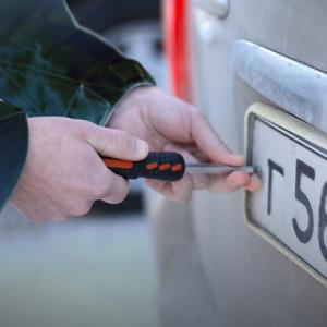 В Ростове задержали предполагаемого похитителя автомобильных номеров
