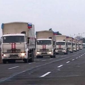 Свыше 120 машин везут в ДНР и ЛНР более 1,4 тыс. тонн гуманитарного груза.