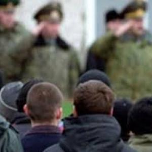 Молодые люди в возрасте от 18 до 27 лет, проживающие на территории Крымского полуострова будут служить в ВС РФ.