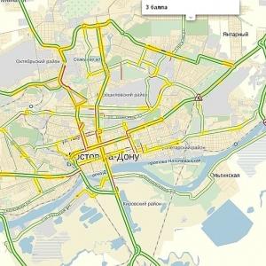 Сервис «Яндекс» исследовал загруженность ростовских улиц с апреля прошлого года по март нынешнего.