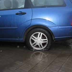 Сегодня в одном из дворов Ростова-на-Дону произошел неприятный инцидент.