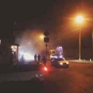 Накануне в Ростове примерно в половине девятого вечера загорелся трамвай с пассажирами.