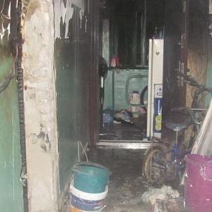 Накануне очередной пожар случился в Ростове.