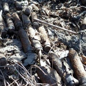 В Ростовской области обнаружено 50 минометных снарядов времен Второй мировой войны.