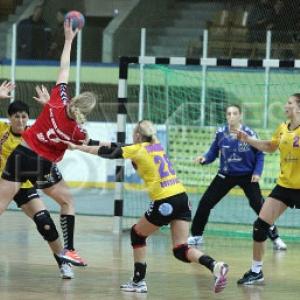 В Дании, в городе Хольстебро, накануне завершилась первая игра финала Кубка ЕГФ между местным клубом «Тим Твис» и ГК «Ростов-Дон».