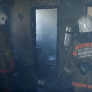 Вчера, 2 мая, в Ростове загорелась многоэтажка, пострадал мужчина.