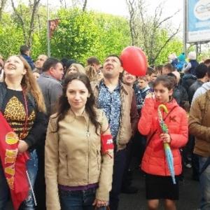 Во время народных гуляний в честь юбилея Победы полиция не выявила нарушений