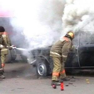 Накануне вечером в Кашарском районе Ростовской области вспыхнул автомобиль марки «Газ-2410».
