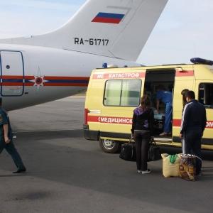 Сегодня утром с аэродрома Раменское в Подмосковье взлетел спецсамолет Ан-148 МЧС России курсом на Симферополь.