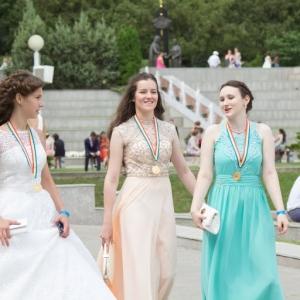 В Ростове-на-Дону прошел губернаторский бал выпускников «Золотое созвездие Дона - 2015». Мероприятие было организовано для тех, кто закончил в этом году школу с медалью или добился иных успехов