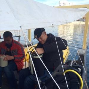 Ростовские дайверы обнаружили в Крыму останки византийского корабля