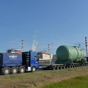 На Ростовскую АЭС прибыл корпус реактора для 4-го энергоблока