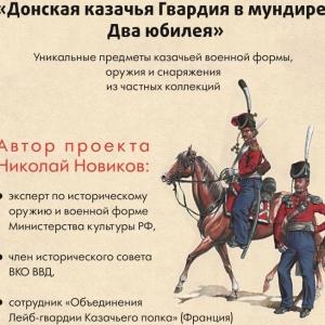 В Старочеркасске открылась выставка казачьей формы и оружия
