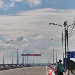 Под Ростовом открыли Аксайский мост через Дон