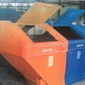 В Ростове-на-Дону появился первый раздельный контейнер для сбора мусора.