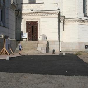 В Ростовской области не могут найти тех, кто асфальтировал площадь перед Вознесенским собором в Новочеркасске