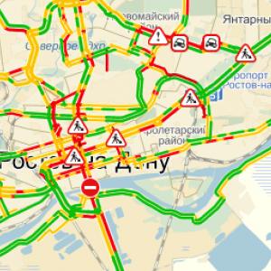 В Ростове выпал снег – город встал в пробках