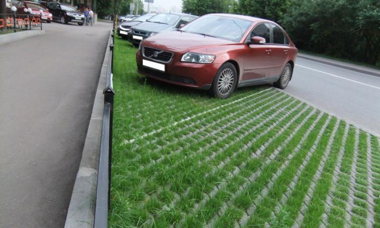 Как сделать парковку на грунте