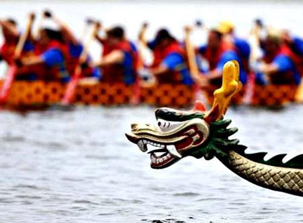 гребля на лодках дракон это