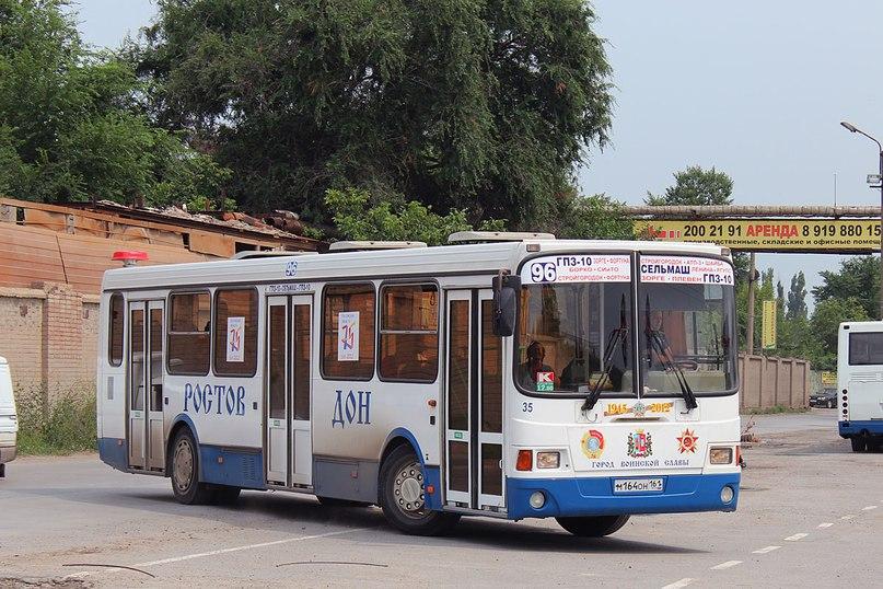 В Ростове в автобусах № 94 и