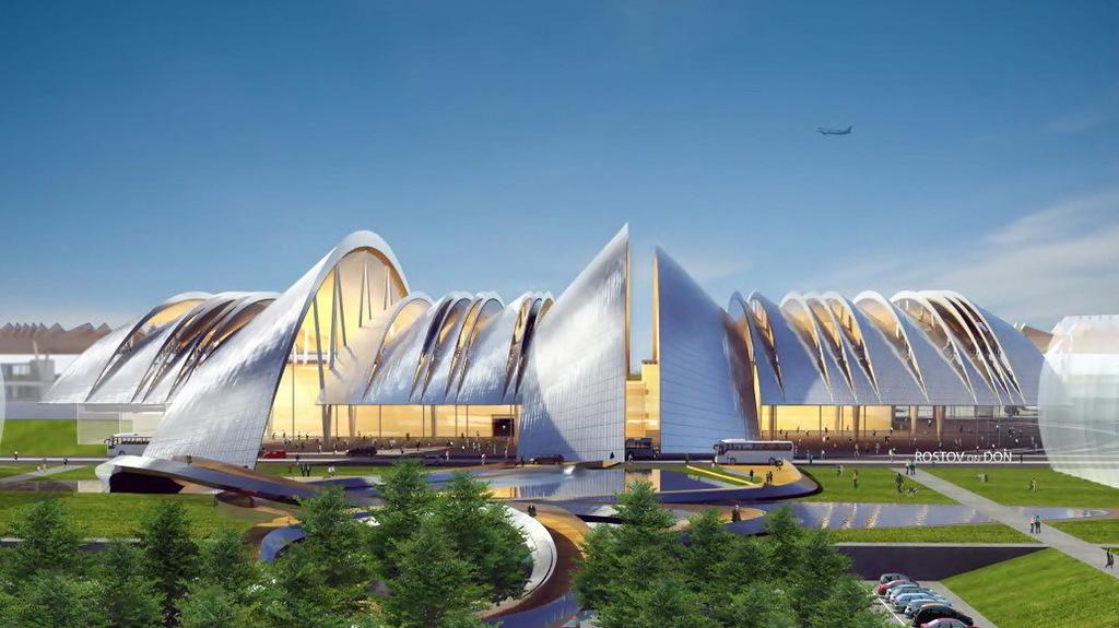 Строительство аэропортового комплекса Южный идет опережающими темпами